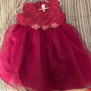 4T toddler fancy girl's dress